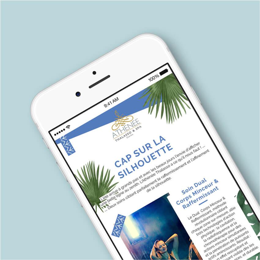 Ollie Agence Communication Créative Culture et Loisirs Athénée Thalasso