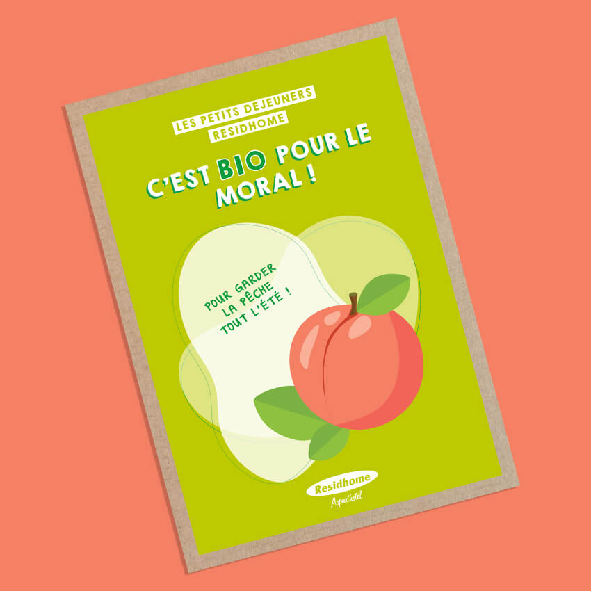 Ollie Agence Communication Créative Food Residhome